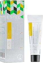 Düfte, Parfümerie und Kosmetik Pflegende Haarcreme Multi-Effekt mit Seidenproteinen, Bienenwachs, Vitamin E und Kamelienöl - Estel Beauty Hair Lab 43 Detox Therapy Cream