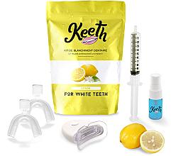 Düfte, Parfümerie und Kosmetik Zahnpflegeset Zitrone - Keeth Lemon Teeth Whitening Kit