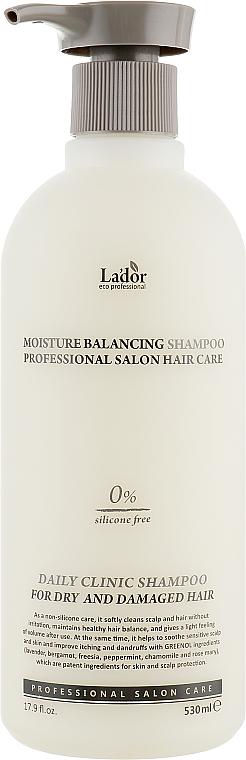 Feuchtigkeitsspendendes sillikonfreies Shampoo für strapaziertes und trockenes Haar - La'dor Moisture Balancing Shampoo