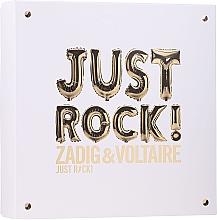 Düfte, Parfümerie und Kosmetik Zadig & Voltaire Just Rock - Duftset (Eau de Parfum 50ml + Körperlotion 50ml + Duschgel 50ml)
