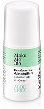 Düfte, Parfümerie und Kosmetik Natürliches Deo Roll-on mit Aloe Vera-Extrakt - Make Me Bio Deo Natural Roll-on
