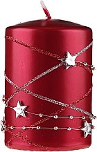Düfte, Parfümerie und Kosmetik Dekorativkerze Christmas rot - Artman Christmas Garland