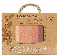 Düfte, Parfümerie und Kosmetik Gesichtspuder - Couleur Caramel Essence De Provence 2in1 Powder