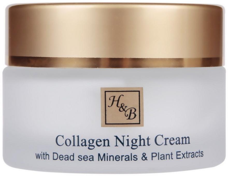 Intensive Anti-Falten Nachtcreme mit Kollagen und Mineralien aus dem Toten Meer - Health and Beauty Intensive Collagen Night Cream — Bild N2
