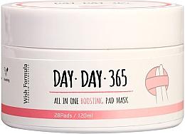 Düfte, Parfümerie und Kosmetik Reinigende Peeling-Pads für das Gesicht - Wish Formula Day Day 365 All in One Boosting Pad Mask
