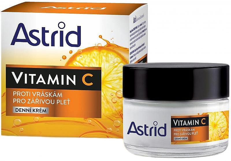 Anti-Falten Tagescreme für das Gesicht mit Vitamin C - Astrid Vitamin C Daily Anti-Wrinkle Cream