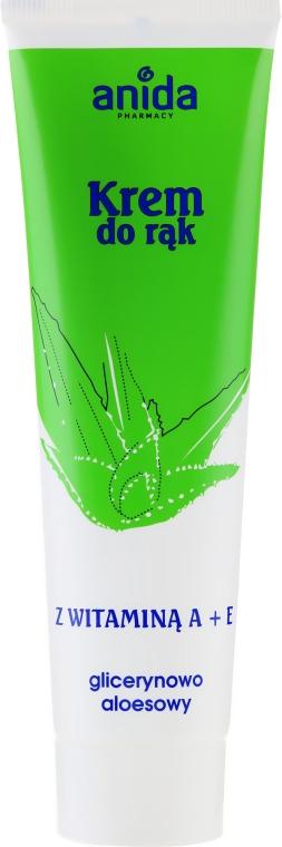 Glycerin-Handcreme mit Vitamin A + E - Anida Pharmacy Hand Cream Vitamin A And E With Glycerine