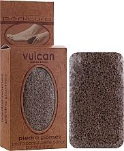Düfte, Parfümerie und Kosmetik Bimsstein 84x44x32 mm Terracotta Brown - Vulcan Pumice Stone