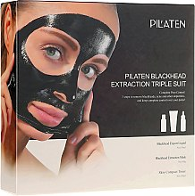 Düfte, Parfümerie und Kosmetik Set - Pilaten (mask/60g + toner/30ml + lot/30ml)