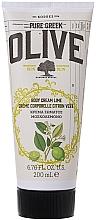 Düfte, Parfümerie und Kosmetik Körpercreme mit Limette und Olive - Korres Pure Greek Olive Lime Body Cream