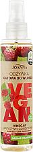 Düfte, Parfümerie und Kosmetik Haarspülung-Spray für mehr Glanz mit Himbeeressig ohne Ausspülen - Joanna Vegan Vinegar Hair Spray Conditioner