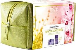 Düfte, Parfümerie und Kosmetik Gesichtspflegeset (Creme 50ml + Fluid 30ml + Kosmetiktasche) - Matis Bouquet Divin