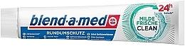 Düfte, Parfümerie und Kosmetik Zahnpasta Milde Frische Claen für Rundumschutz - Blend-a-med Mild Fresh Clean Toothpaste