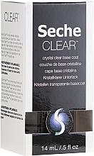 Düfte, Parfümerie und Kosmetik Nagelunterlack - Seche Vite Clear Crystal Base Coat