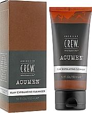 Düfte, Parfümerie und Kosmetik Gesichtsreinigungsmittel mit Tonerde - American Crew Acumen Clay Exfoliating Cleanser