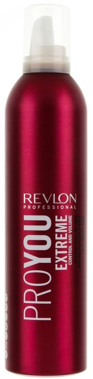 Volumen-Schaumfestiger mit extra starkem Halt - Revlon Professional Pro You Extra Strong Hair Mousse Extreme — Bild N1