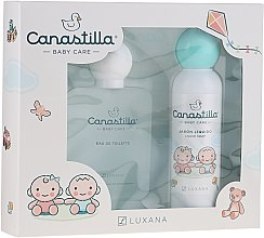 Düfte, Parfümerie und Kosmetik Luxana Canastilla - Duftset für Kinder (Eau de Toilette 100ml + Flüssige Seife 150ml)