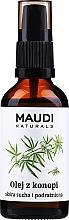 Düfte, Parfümerie und Kosmetik Hanföl mit Spender - Maudi