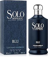 Luciano Soprani Solo Soprani Blu - Eau de Toilette — Bild N2
