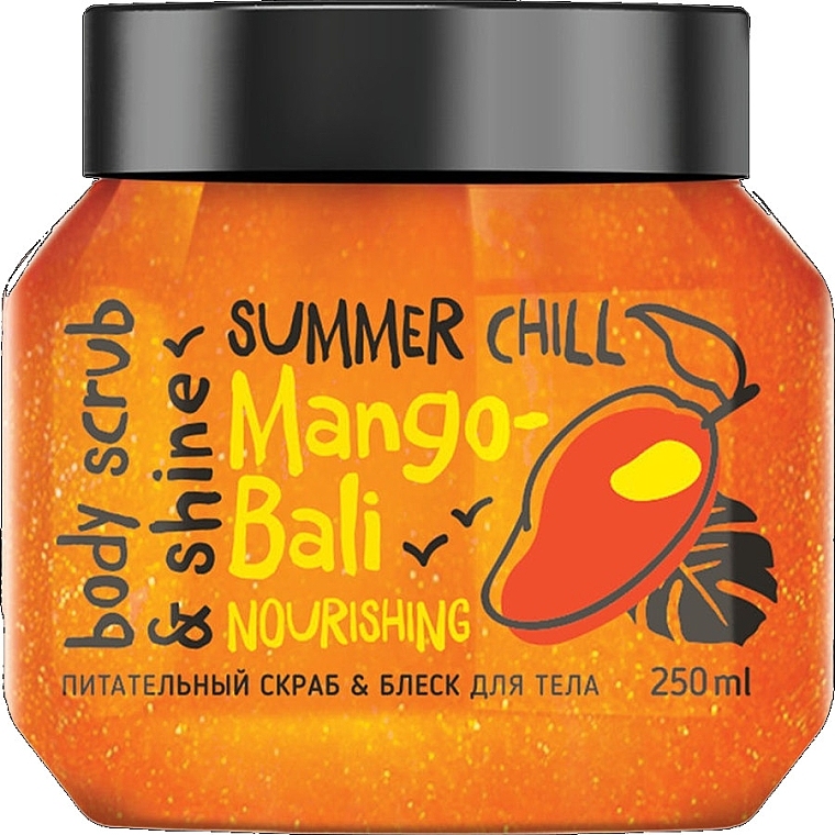 Pflegendes und schimmerndes Körperpeeling mit Mangoöl und Kokosnuss - MonoLove Bio Mango-Bali Nourishing