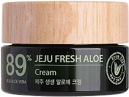 Düfte, Parfümerie und Kosmetik Feuchtigkeitsspendende Gesichtscreme mit 89% Aloe Vera-Saft - The Saem Jeju Fresh Aloe Cream