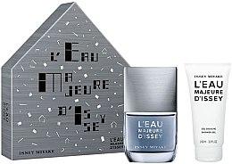 Düfte, Parfümerie und Kosmetik Issey Miyake L'Eau Majeure D'Issey - Duftset (Eau de Toilette 50ml + Duschgel 100ml)