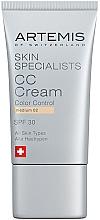 Düfte, Parfümerie und Kosmetik CC Gesichtscreme SPF 30 - Artemis of Switzerland Skin Specialists CC Cream