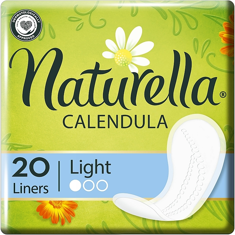 Slipeinlagen Calendula Tenderness Normal 20 St. - Naturella Calendula Tenderness Normal