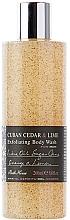 Düfte, Parfümerie und Kosmetik Bath House Cuban Cedar & Lime - Peeling-Duschgel Kubanische Zeder & Limette
