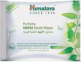 Düfte, Parfümerie und Kosmetik Reinigende Feuchttücher zum Abschminken für normale bis fettige Haut - Himalaya Purifying Neem Facial Wipes