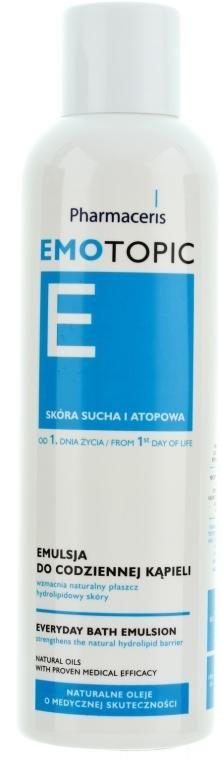 Badeemulsion für trockene und atopische Haut - Pharmaceris E Emotopic Everyday Bath Emulsion — Bild N4