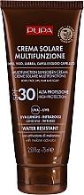 Düfte, Parfümerie und Kosmetik Feuchtigkeitsspendende Sonnenschutzcreme für Körper, Gesicht, Haar und Kopfhaut SPF 30 - Pupa Multifunction Sunscreen Cream