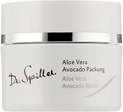 Düfte, Parfümerie und Kosmetik Creme-Maske mit Aloe und Avocado - Dr. Spiller Biomimetic Skin Care Aloe Vera Avocado Mask