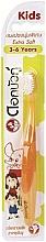 Düfte, Parfümerie und Kosmetik Kinderzahnbürste 3-6 Jahre ultra weich orange - Twin Lotus Dok Bua Ku Kids Toothbrush ExtraSoft