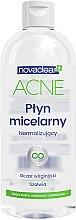 Düfte, Parfümerie und Kosmetik Normalisierendes Mizellen-Reinigungswasser für das Gesicht - Novaclear Acne Micellar Water