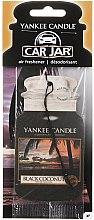 Düfte, Parfümerie und Kosmetik Auto-Lufterfrischer Black Coconut - Yankee Candle Car Jar Black Coconut Air Freshener