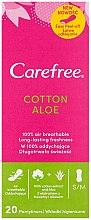 Düfte, Parfümerie und Kosmetik Slipeinlagen mit Baumwollextrakt und Aloe Vera 20 St. - Carefree Cotton Aloe