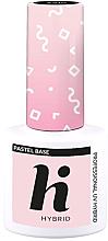Düfte, Parfümerie und Kosmetik Hybrid-Nagelunterlack - Hi Hybrid Pastel Base