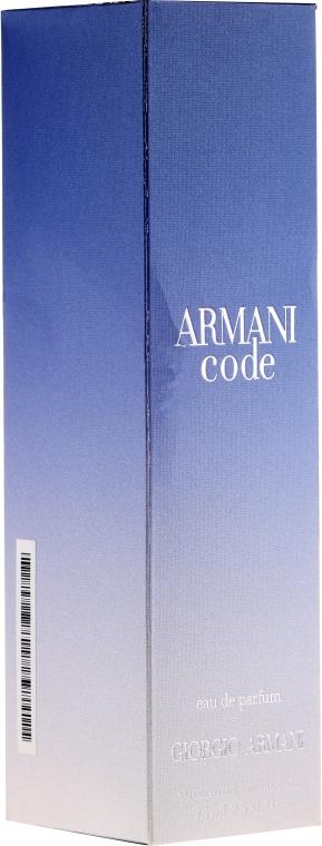 Giorgio Giorgio Armani Armani Code - Duftset (Eau de Parfum 75ml + Körperlotion 75ml) — Bild N4