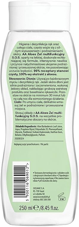 Multifunktionales Hand- und Körpergel mit 100% Aloe Vera - AA Aloes 100% Aloe Vera Hand And Body SOS Gel — Bild N2