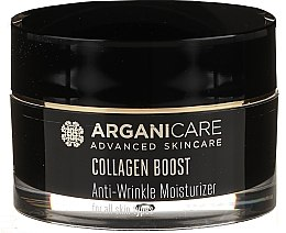 Düfte, Parfümerie und Kosmetik Feuchtigkeitsspendende Anti-Falten Gesichtscreme mit Kollagen und Arganöl - Arganicare Collagen Boost Advanced Anti-Wrinkle Moisturizer
