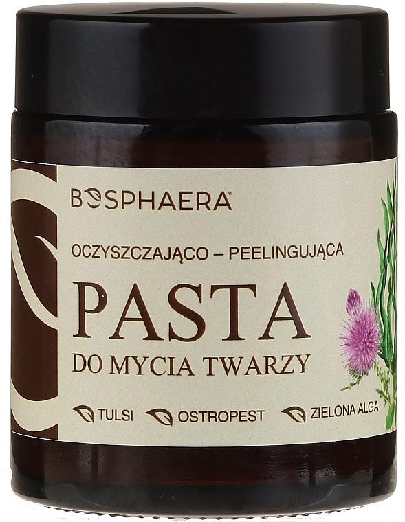Reinigende Peelingpaste für das Gesicht - Bosphaera