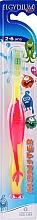 Düfte, Parfümerie und Kosmetik Zahnbürste für Kinder 2-6 Jahre rosa - Elgydium Kids Monster Toothbrush