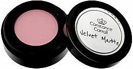 Düfte, Parfümerie und Kosmetik Mattierender Lidschatten - Constance Carroll Velvet Matte Mono Eyeshadow