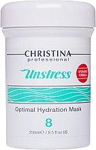 Düfte, Parfümerie und Kosmetik Feuchtigkeitsspendende Gesichtsmaske Schritt 8 - Christina Unstress Step 8 Optimal Hydration Mask