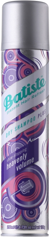 Trockenes Shampoo - Batiste Dry Shampoo Heavenly Volume