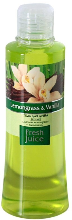 "Duschgel ""Zitronengras & Vanille"" - Fresh Juice Sexy Mix Lemongrass & Vanilla — Bild N4"