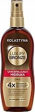 Düfte, Parfümerie und Kosmetik Selbstbräunungsspray für den Körper - Kolastyna Luxury Bronze Tanning Spray