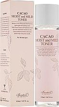 Düfte, Parfümerie und Kosmetik Gesichtstonikum mit Kakaoextrakt und Hyaluronsäure - Benton Cacao Moist and Mild Toner
