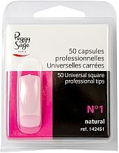 Düfte, Parfümerie und Kosmetik Nageltips eckig №1 50 St. - Peggy Sage Tips